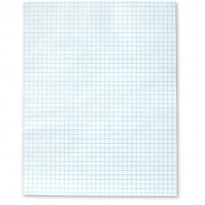 economy graph paper 50 sheet pad 1 4 grid 11 x 17
